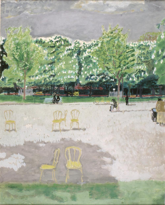 Genis  MAURICE BRIANCHON  Bois de Boulogne (Jardin du Ranelagh